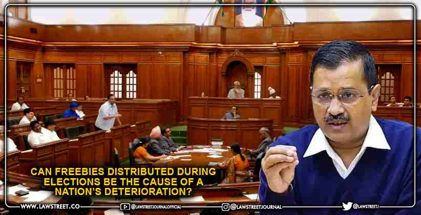 Can Freebies distributed during Elections…