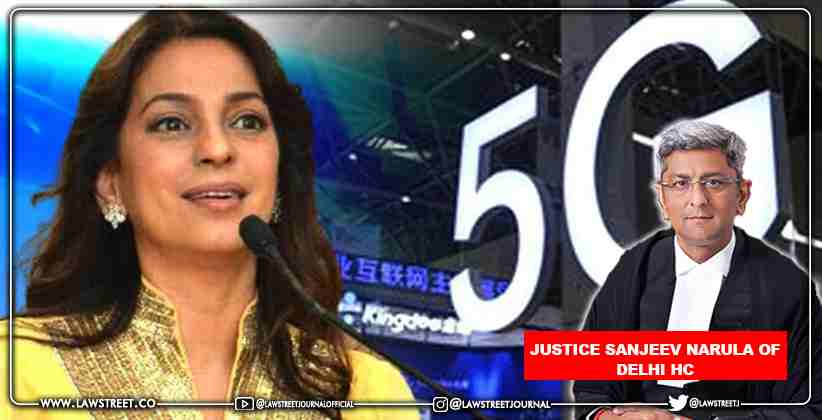 Justice Sanjeev Narula of Delhi High Court recuses himself from hearing concerning Juhi Chawla's Appeal for Waiver of Rs. 20 Lakh's Costs in 5G Case
