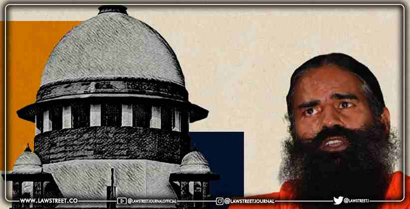 Supreme Court to Hear Ramdev Baba's Plea on His Allopathy Remarks Next Week