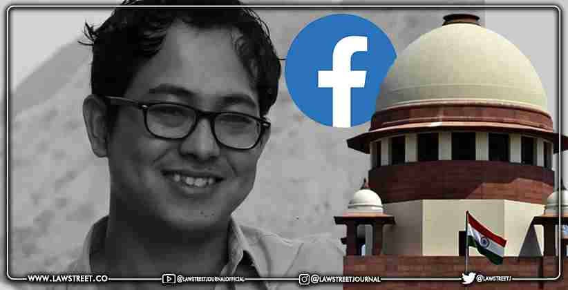 Manipur-based activist Erendro Leichombam who was Detained over controversial Facebook post released