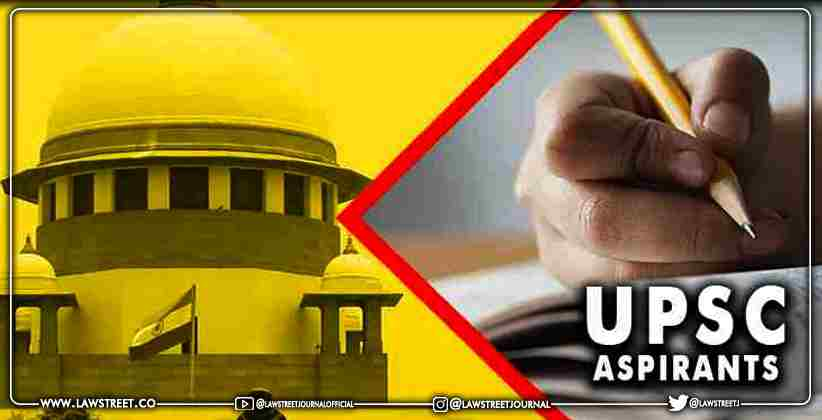 USPC Aspirant files petition in the Supreme Court Against the Cancellation of her Candidature for not submitting requisite proof of educational qualification.