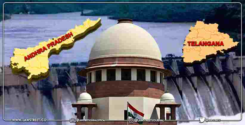 Andhra Pradesh Government Moves Supreme Court Against Telangana Government in Dispute Over Sharing of Krishna River Water