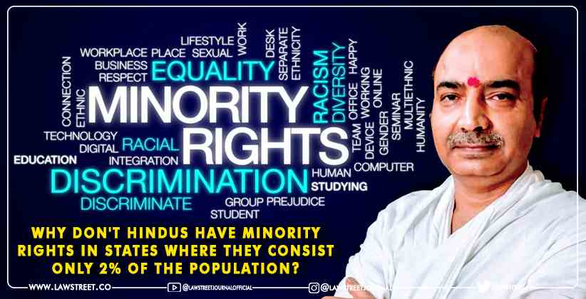 Why don't Hindus have minority rights in…