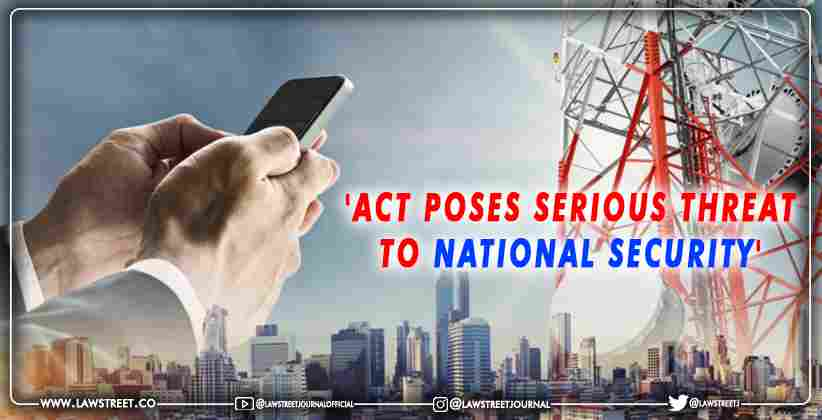 Illegal International Telecom Setup National Security