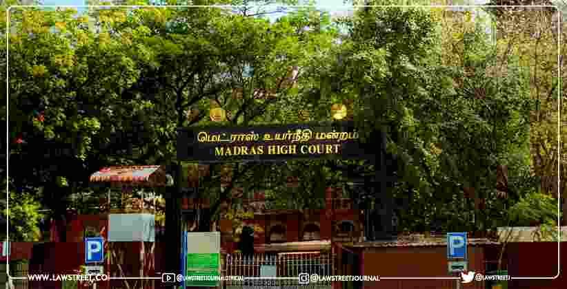 Madras High Court Compensation Ambulance at Health Centre