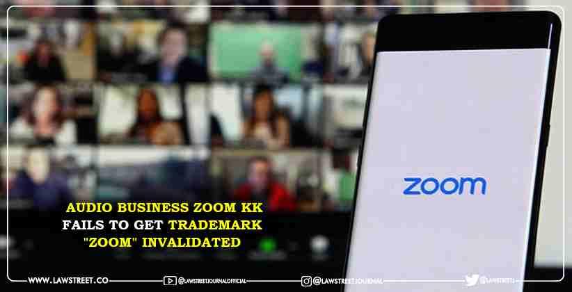 Audio Business Zoom KK fails to get trademark