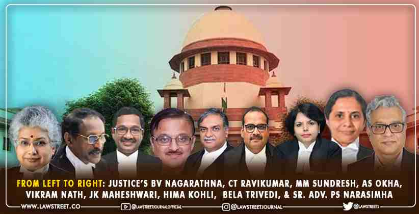 nine judges take oath in one go