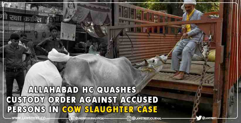 Cow Slaughter Case