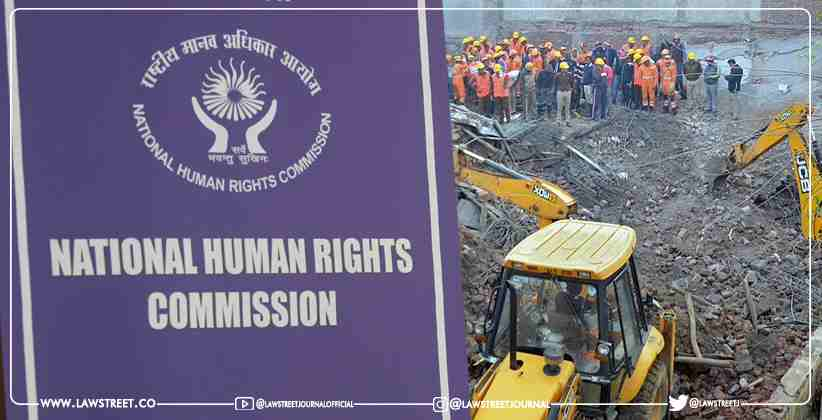 NHRC Takes Suo Moto Cognizance of Collapsing…