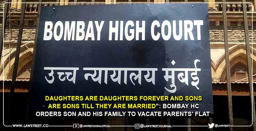 """""""Daughters are daughters forever and sons…"""