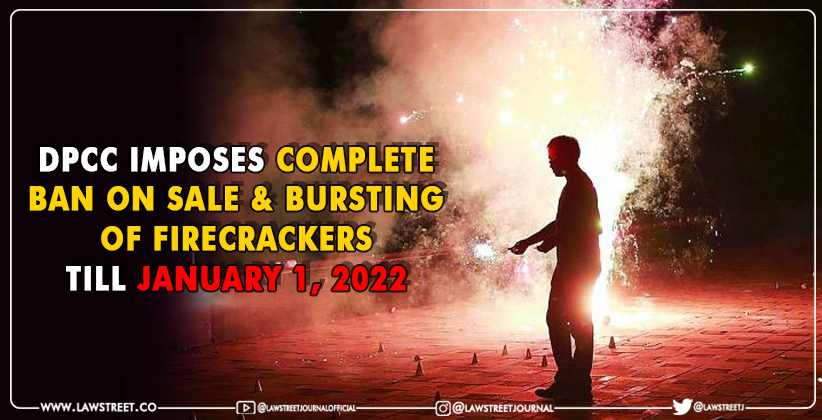 Delhi Pollution Control Committee Imposes Complete Ban on Sale and Bursting of Firecrackers
