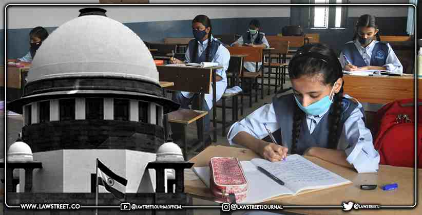 Supreme Court Rejects Delhi Student's Writ Petition To Start Physical School