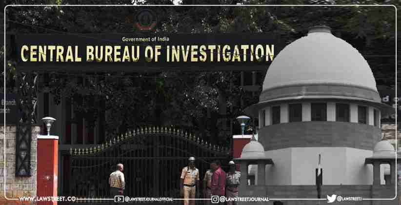 Cbi Data To Be Examined By The Supreme Court