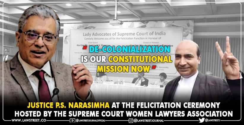 Decolonialization Constitutional Mission Narasimha Ashwini Upadhyay