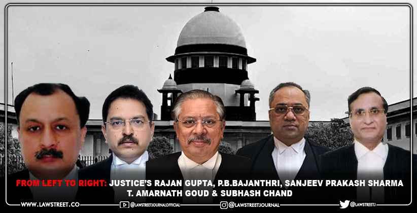 Supreme Court Collegium Reiterates Recommendation