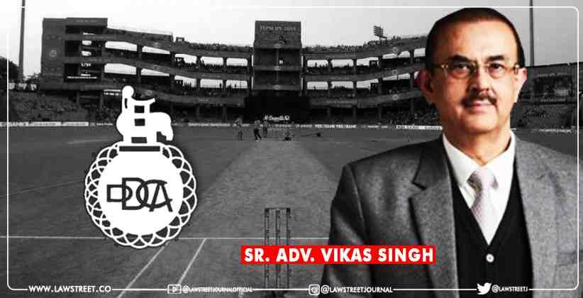 Delhi District Cricket Association Vikas Singh