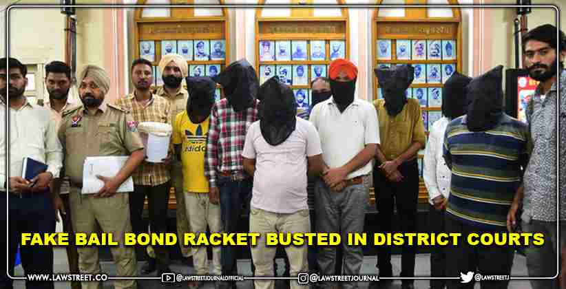 Fake Bail Bond racket busted in District Courts