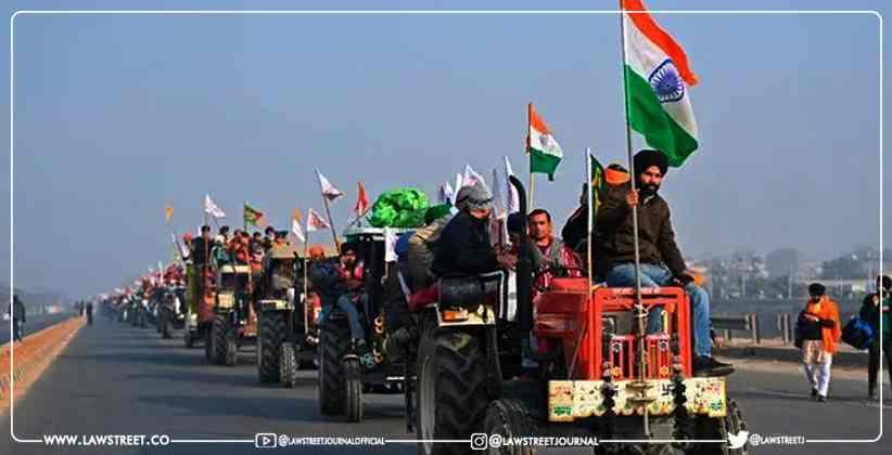 Farmers Protest Supreme Court