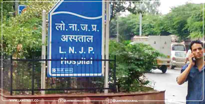 Delhi High Court is hearing a plea pointing out the poor condition of the LNJP Hospital