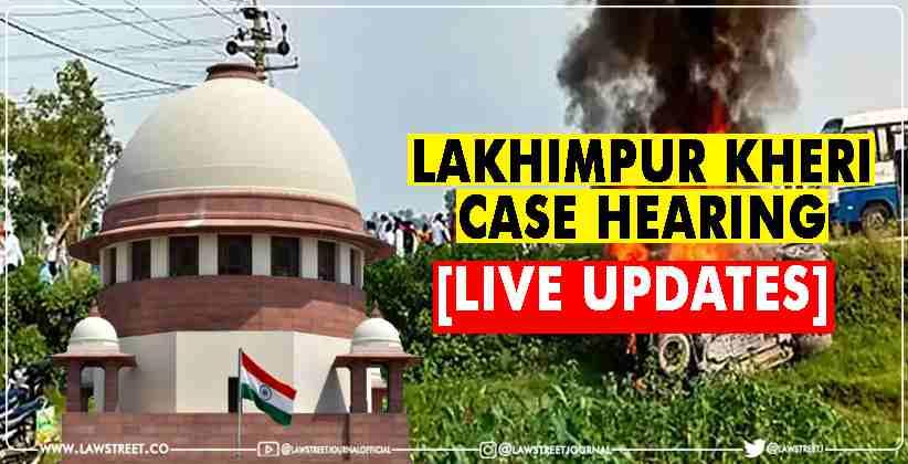 Lakhimpur Kheri Case Hearing in the Supreme…