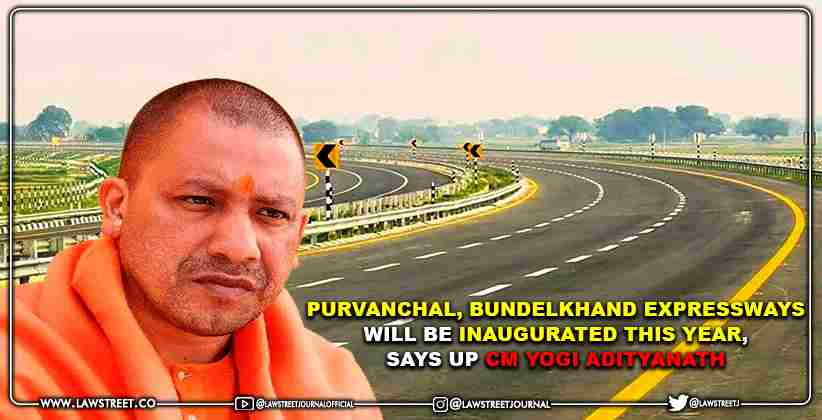 Purvanchal, Bundelkhand Expressways Will Be Inaugurated This Year, Says UP CM Yogi Adityanath