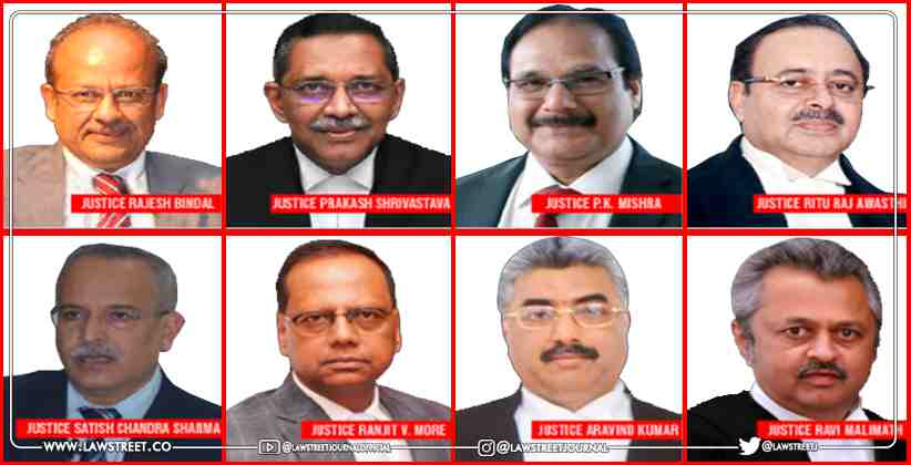 New Chief Justices For High Courts notified