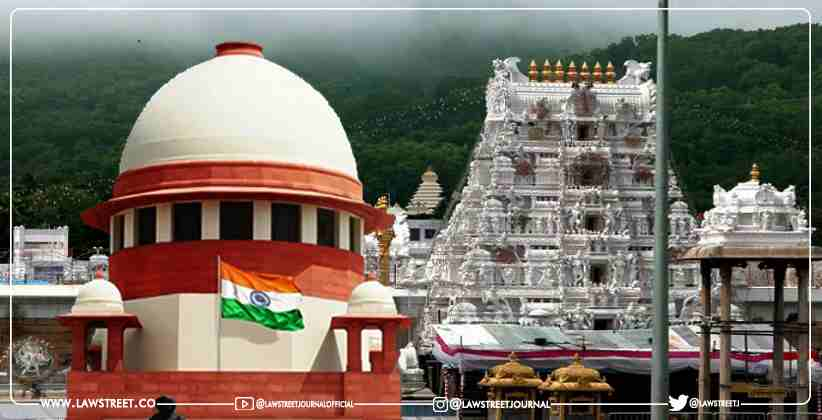 Tirupathi Tirumala's Response Sought In Plea Alleging Ireegularities In Conducting Sevas And Rituals At The Temple