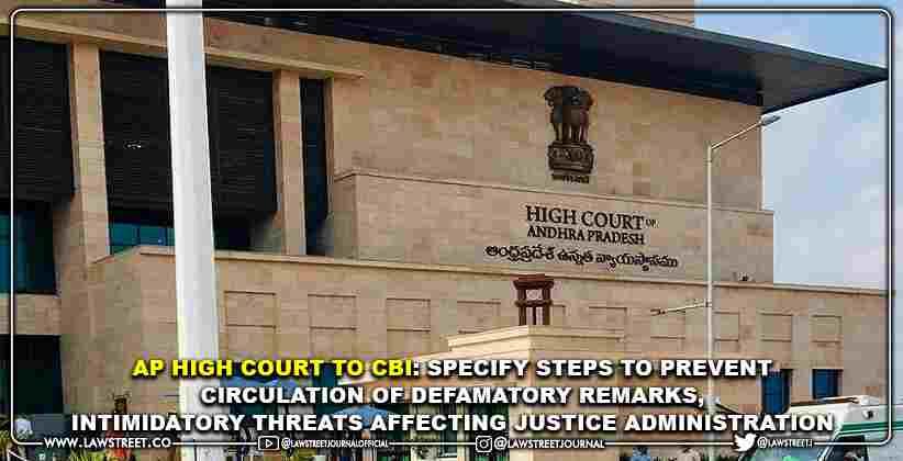 AP High Court to CBI: Specify Steps to Prevent…