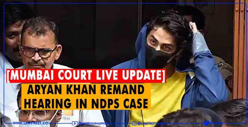 Aryan Khan remand hearing in NDPS case