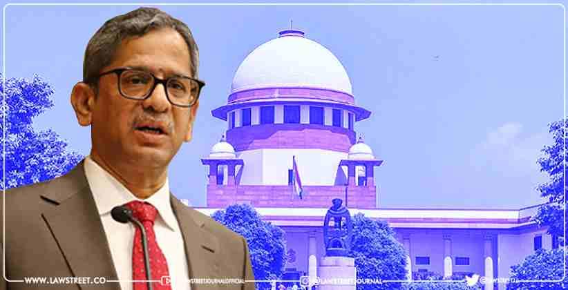 Supreme Court Bench led by CJI NV Ramana…