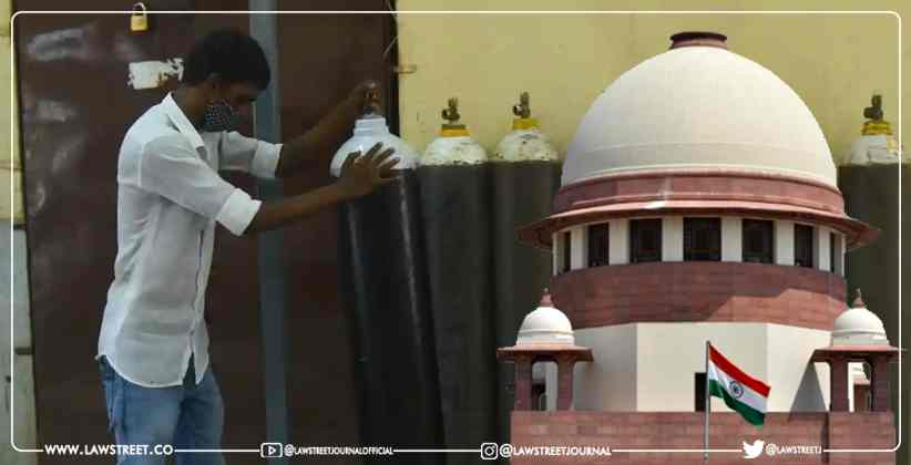 SC dismisses petition seeking release of oxygen cylinders