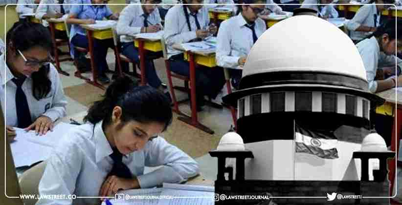 Supreme Court Seeks CBSE's Response to Pleas Alleging Failure to Assess Class 12 Marks as Per 30:30:40 Formula