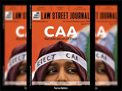 Lawstreet Journal January, 2020